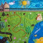 развивающий коврик для детей идеи вариантов