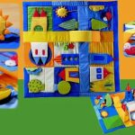 развивающий коврик для детей своими руками фото