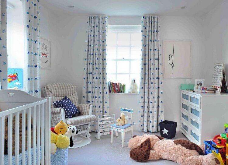 шторы в детскую комнату для девочки фото декора