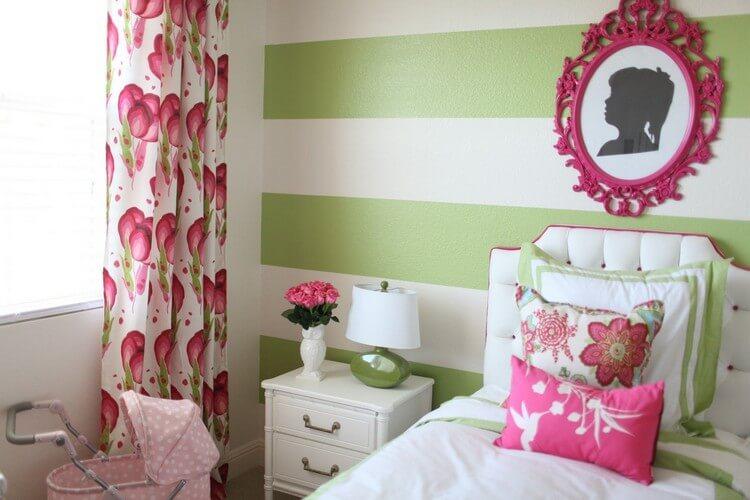 шторы в детскую комнату для девочки фото оформление