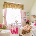 шторы в детскую комнату для девочки идеи дизайн