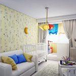 шторы в детскую комнату для девочки интерьер идеи