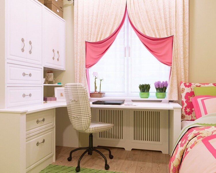 шторы в детскую комнату для девочки оформление идеи
