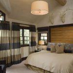 коричневые шторы фото дизайн