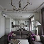 серые шторы декор фото