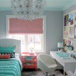 шторы в детскую комнату для девочки интерьер