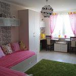 шторы в комнату девочек интерьер фото