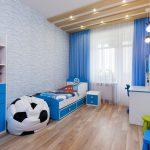 шторы в комнату мальчика фото оформление