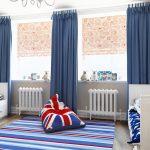 шторы в детскую комнату для мальчика фото вариантов
