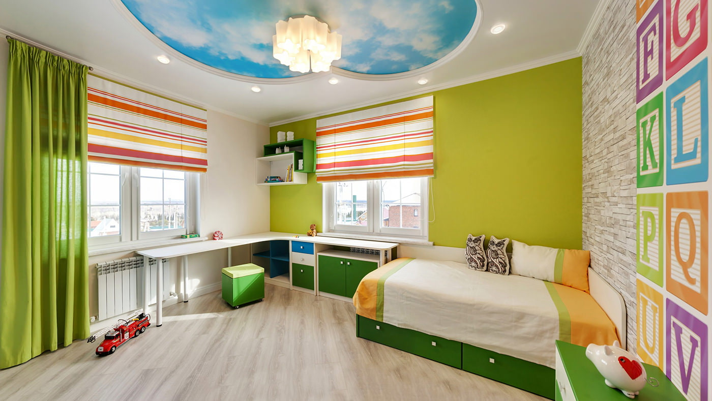 шторы в детскую комнату для мальчика фото варианты