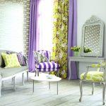 желтые шторы идеи декор