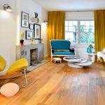 желтые шторы идеи дизайна