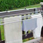 сушилка для белья на балкон фото дизайна