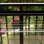 сушилка для белья на балкон идеи дизайна