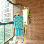 сушилка для белья на балкон оформление фото