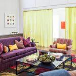 желтые шторы фото дизайн