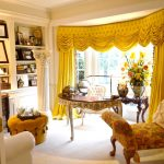 желтые шторы фото интерьер