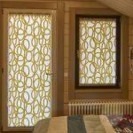 желтые шторы интерьер фото