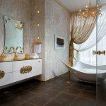 золотые шторы идеи дизайн