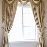 золотые шторы идеи дизайна