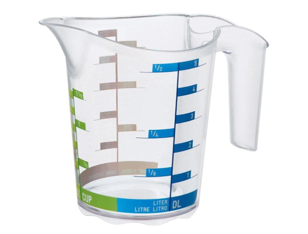 мерный стакан пластиковый