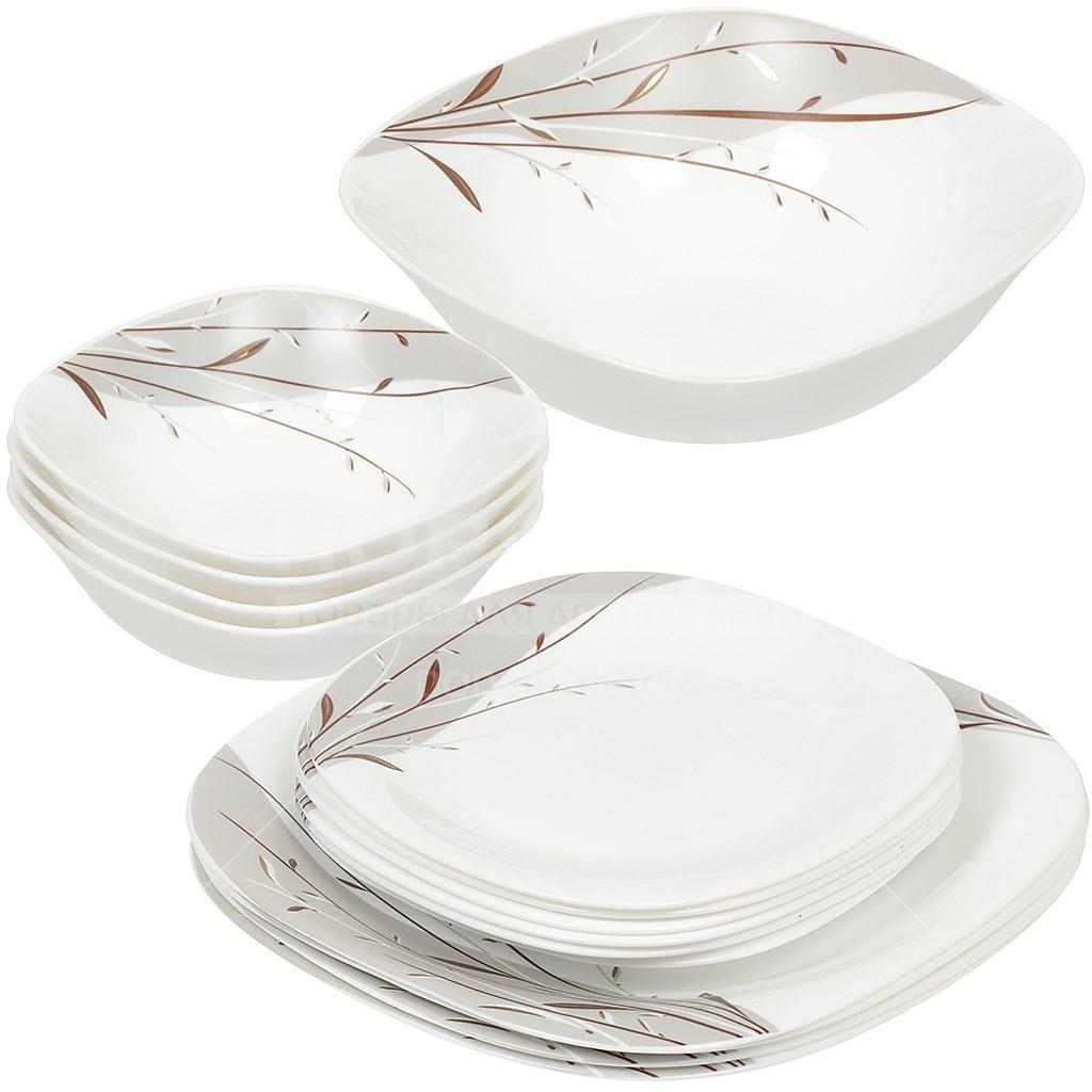набор посуды из стеклокерамики