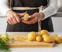 нож для чистки картофеля