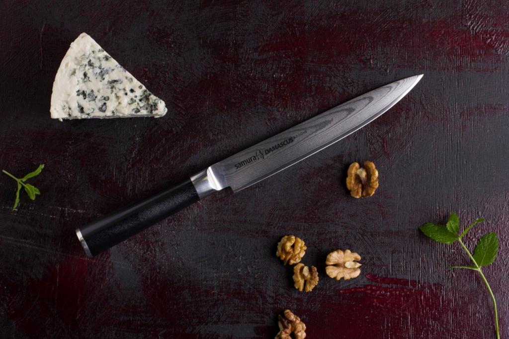 нож с кожаной рукоятью