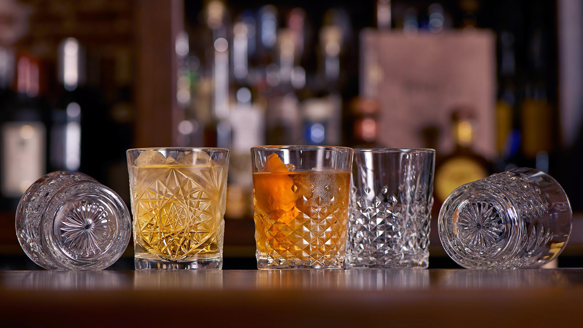 Old Fashioned бокалы