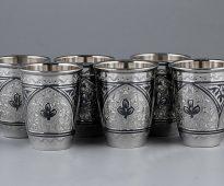стопки из серебра