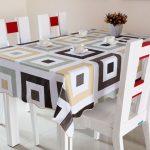 скатерть клеенка на стол для кухни виды декора