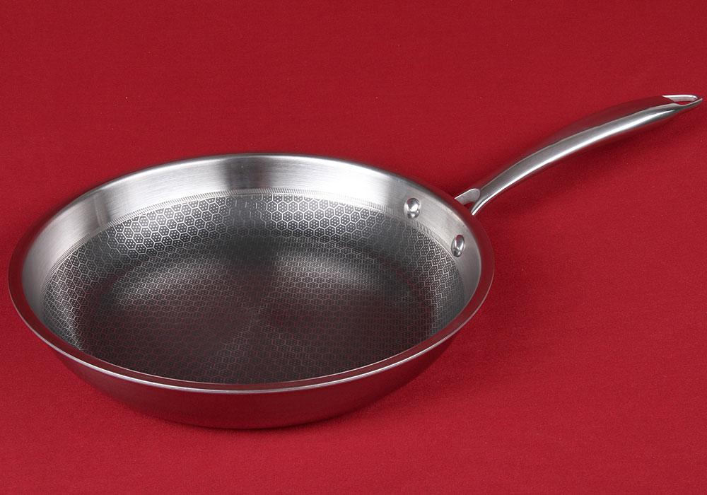антипригарная сковорода стальная