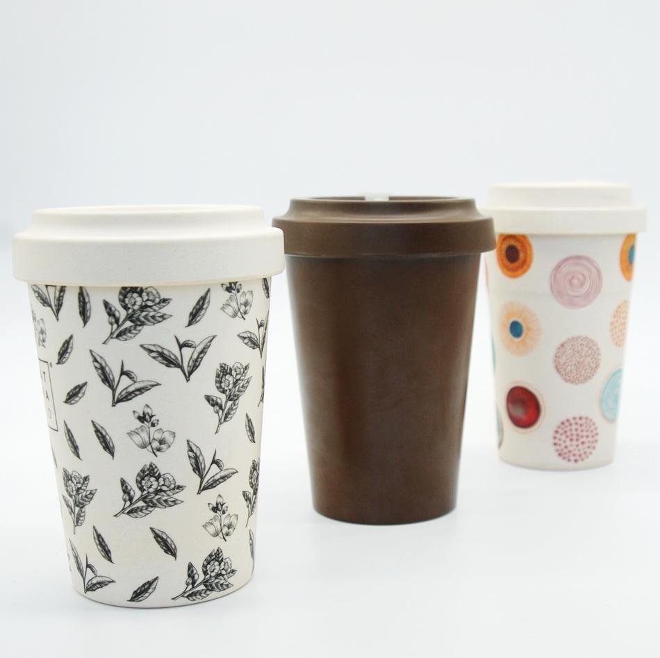 бамбуковые стаканы для кофе