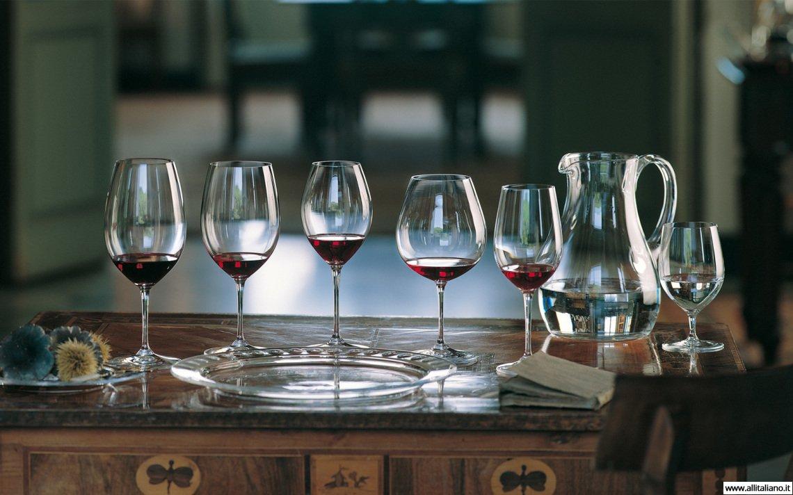 бокалы для вина riedel