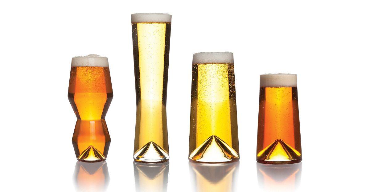 необычные бокалы для пива