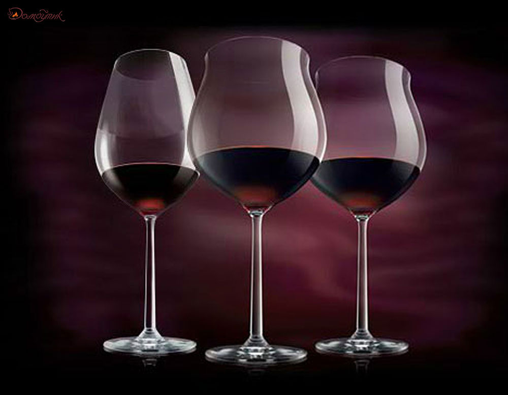 бокалы для вина бордо