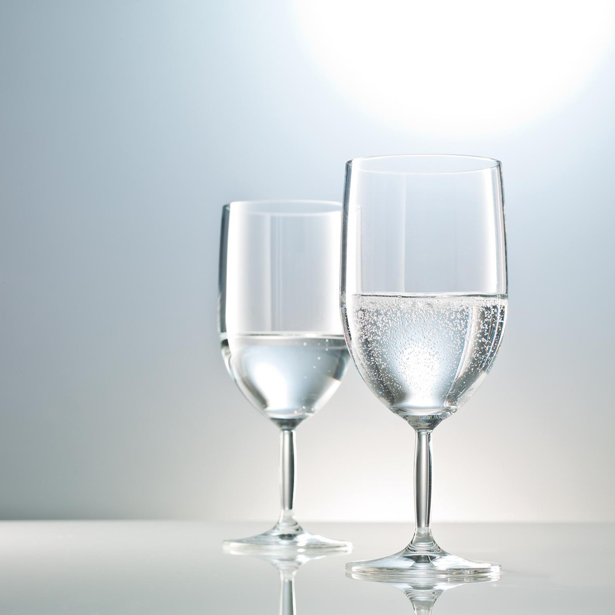 бокалы для воды на ножке