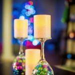 декор бокалов на новый год идеи фото