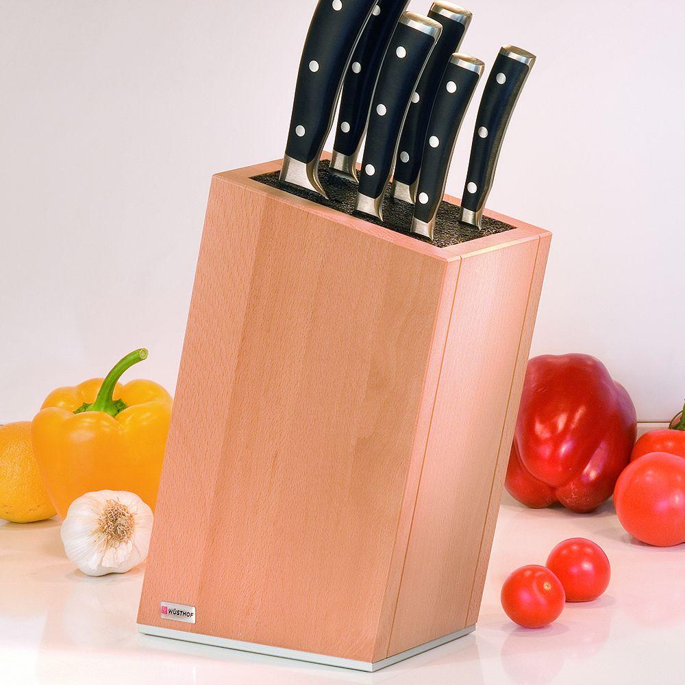 деревянная подставка под ножи
