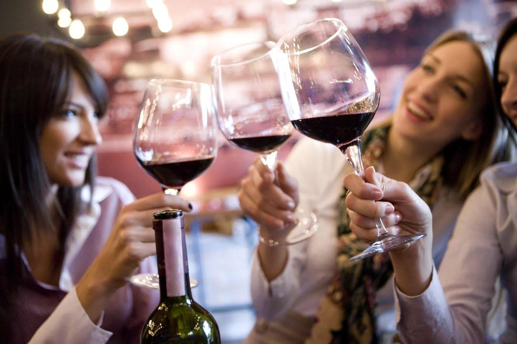 как чокаться вином