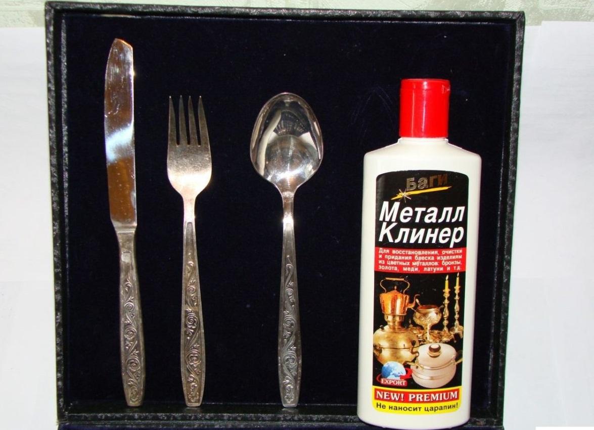 как почистить мельхиор