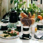 красивая сервировка стола декор