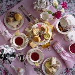 красивая сервировка стола декор фото