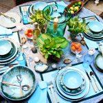 красивая сервировка стола фото оформление
