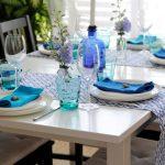 красивая сервировка стола виды декора
