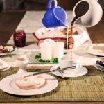 красивая сервировка стола фото дизайн