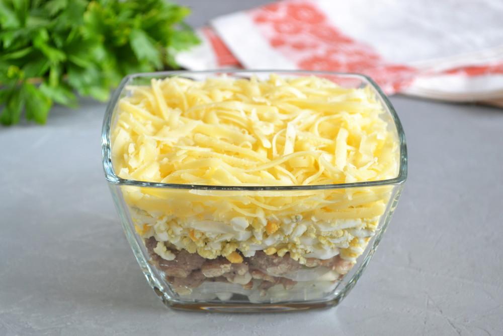 квадратный салатник