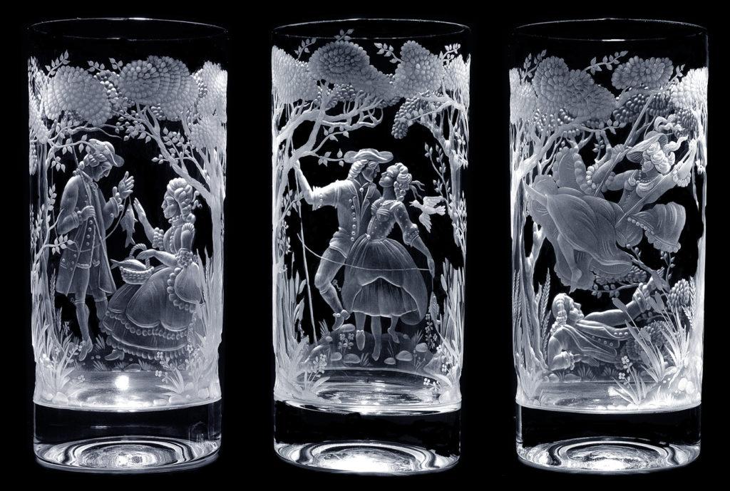 лазерная гравировка стаканов