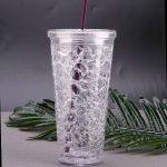 многоразовые стаканы с крышкой и трубочкой идеи дизайн