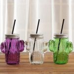 многоразовые стаканы с крышкой и трубочкой обзор фото